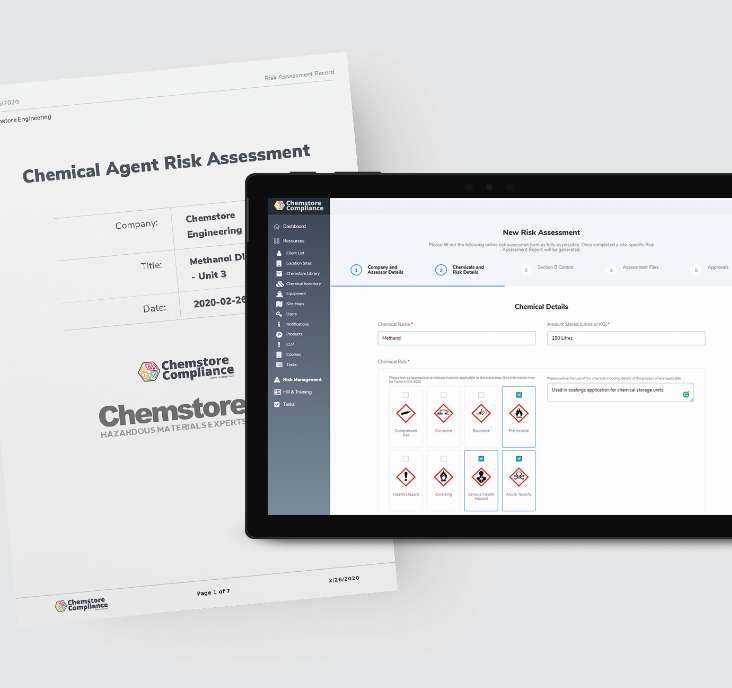 Chempli Risk Management Module Risk Assessment
